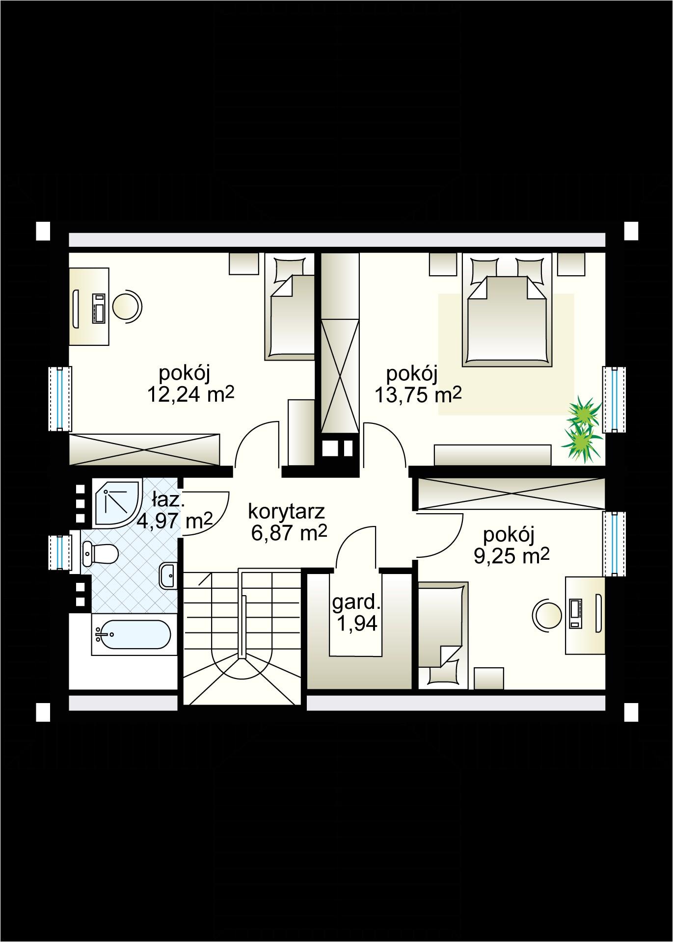 Pod Style House Plans House Design Pod Grusza 131 04 M Domowe Klimaty