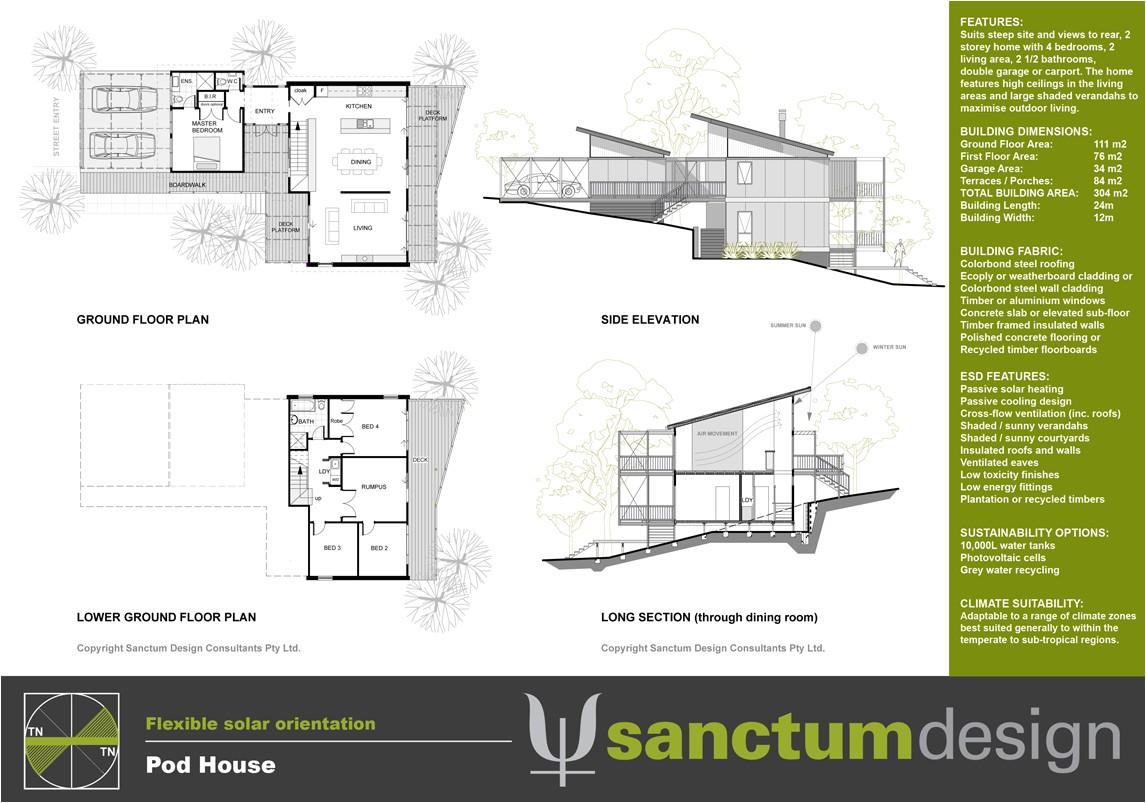 lovely pod house plans 4 pod homes floor plans