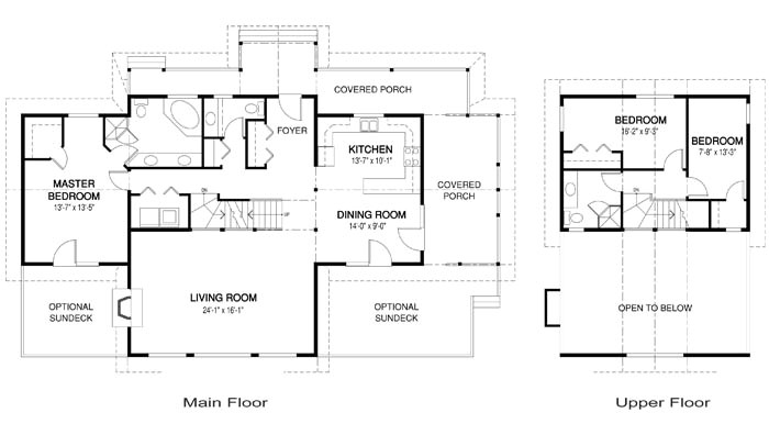 post and beam home plans