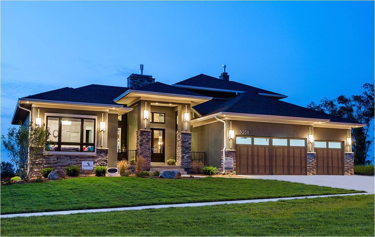 amazing prairie style home plan 81636ab
