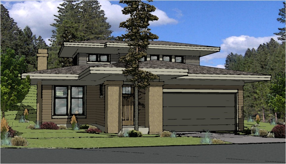special small prairie style house plans