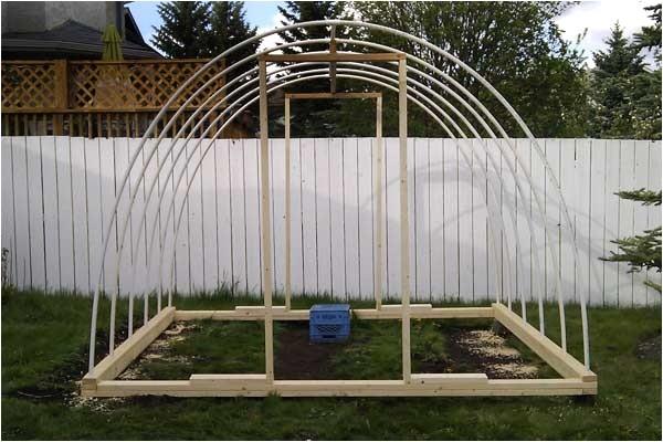 homemade pvc greenhouse plans