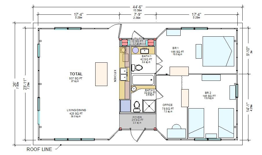 quonset hut homes floor plans plougonver com