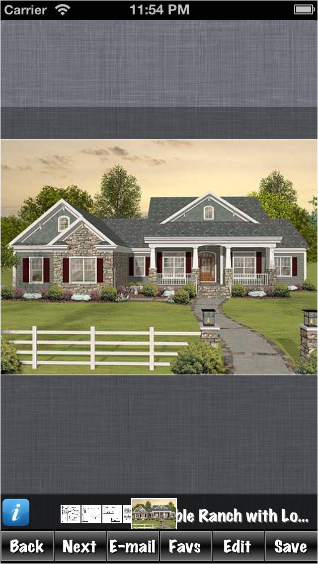 ranch build style house plans