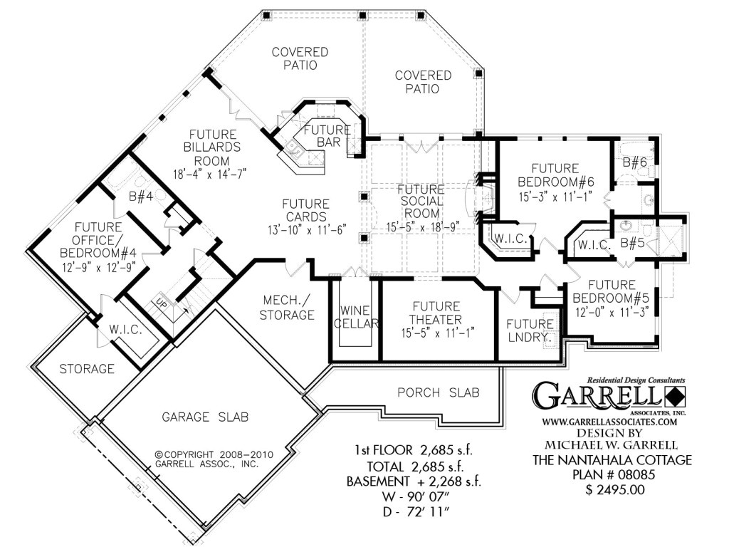 ranch style floor plans with basement