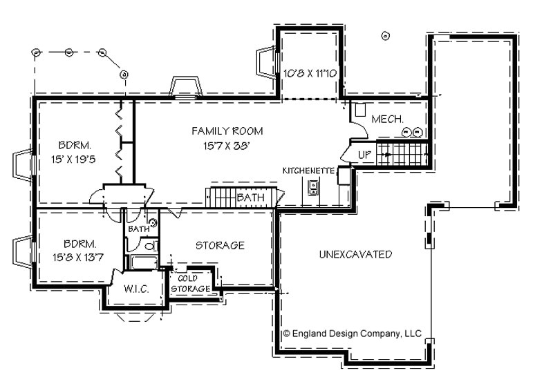 ranch style house plans with basements