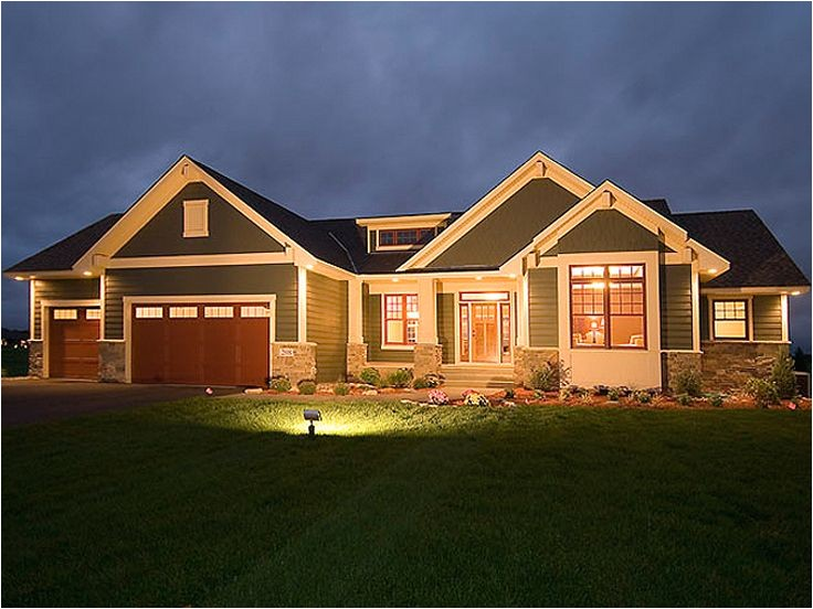 unique house plans with walkout basement 7 craftsman style house plans for ranch homes