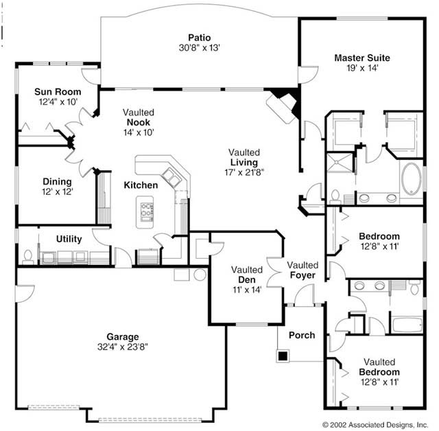 characteristics of ranch style house