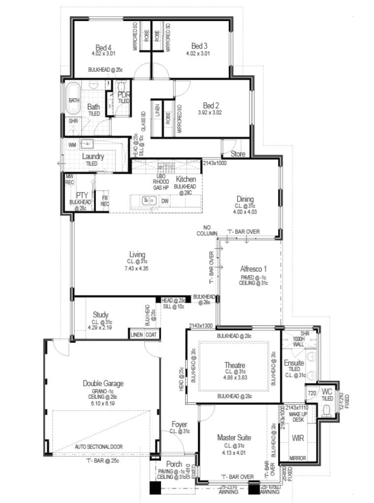 red ink homes floor plans