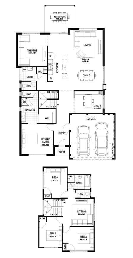 red ink homes floor plans luxury garage with guest house plans