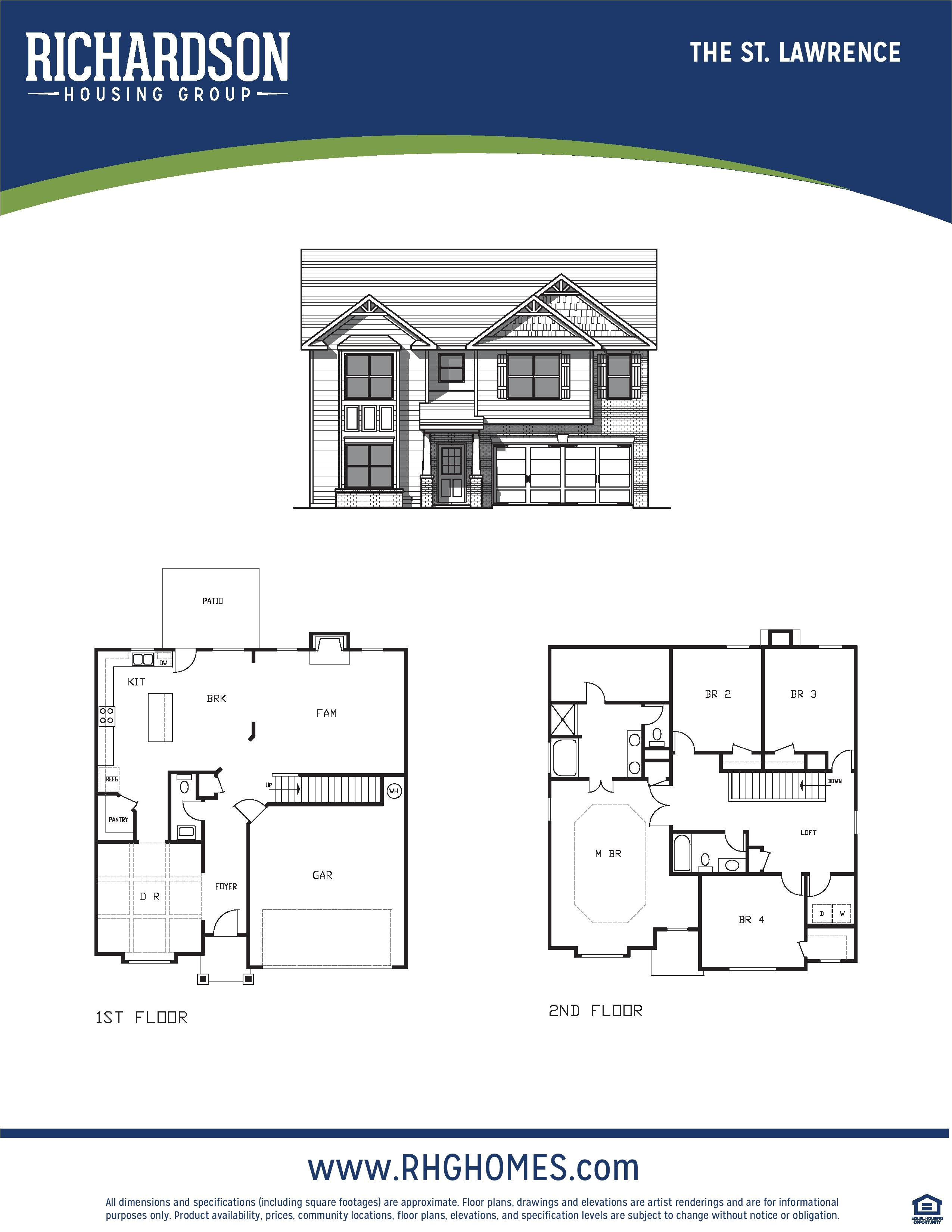 rhg invites you to check out the st lawrence floor plan available now at castleberry hills