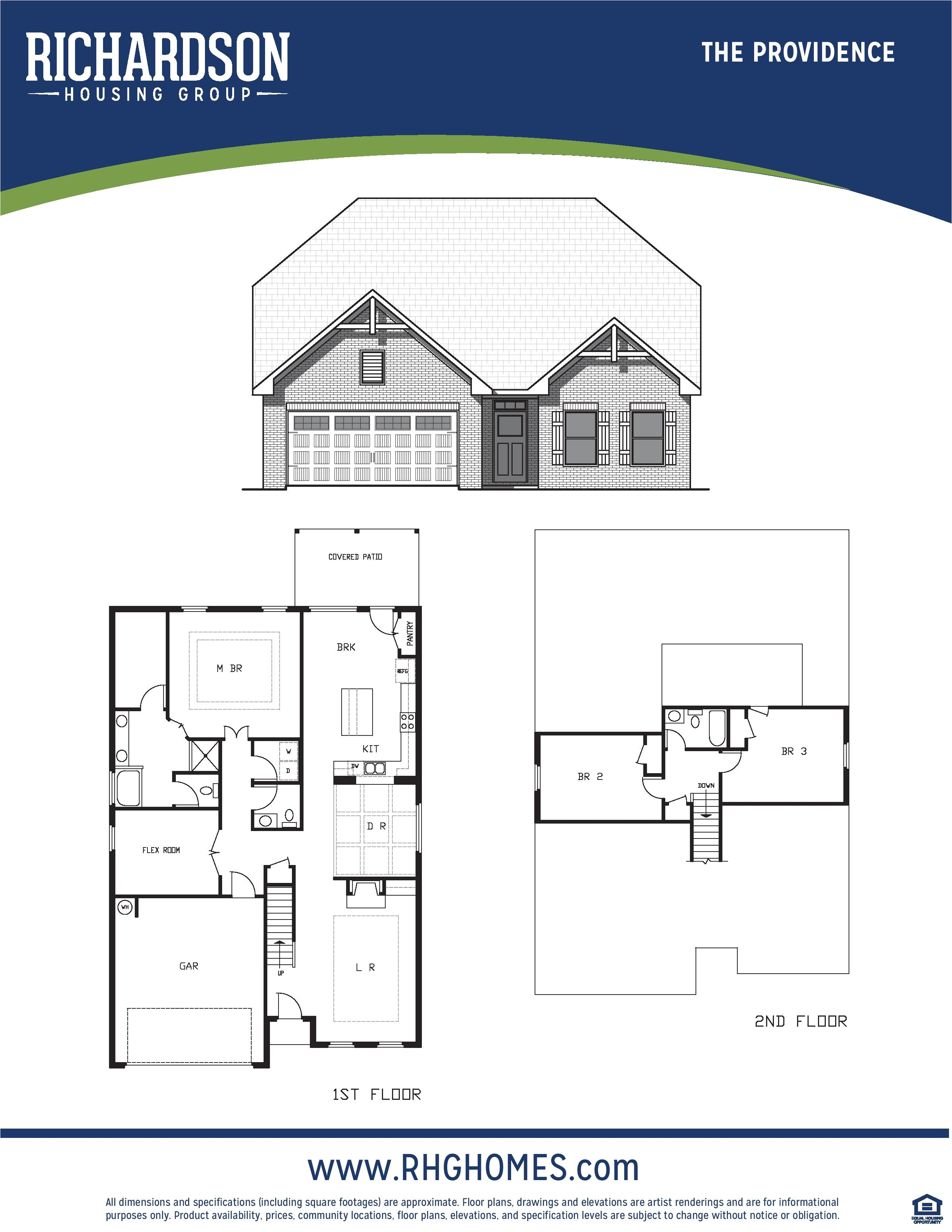 richardson housing group floor plans