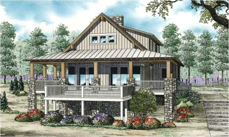 river house plans on pilings