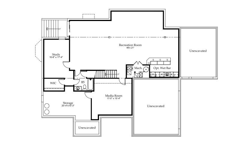 strathmore basement