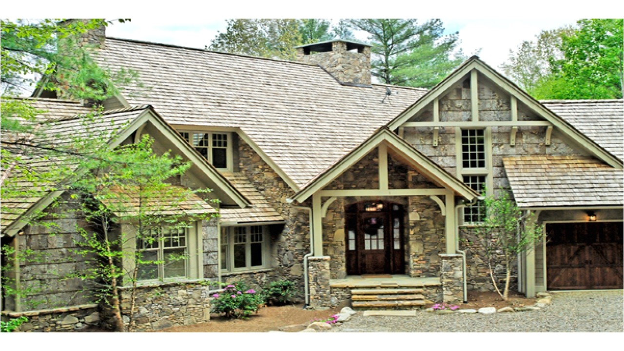 rustic mountain house plans one story