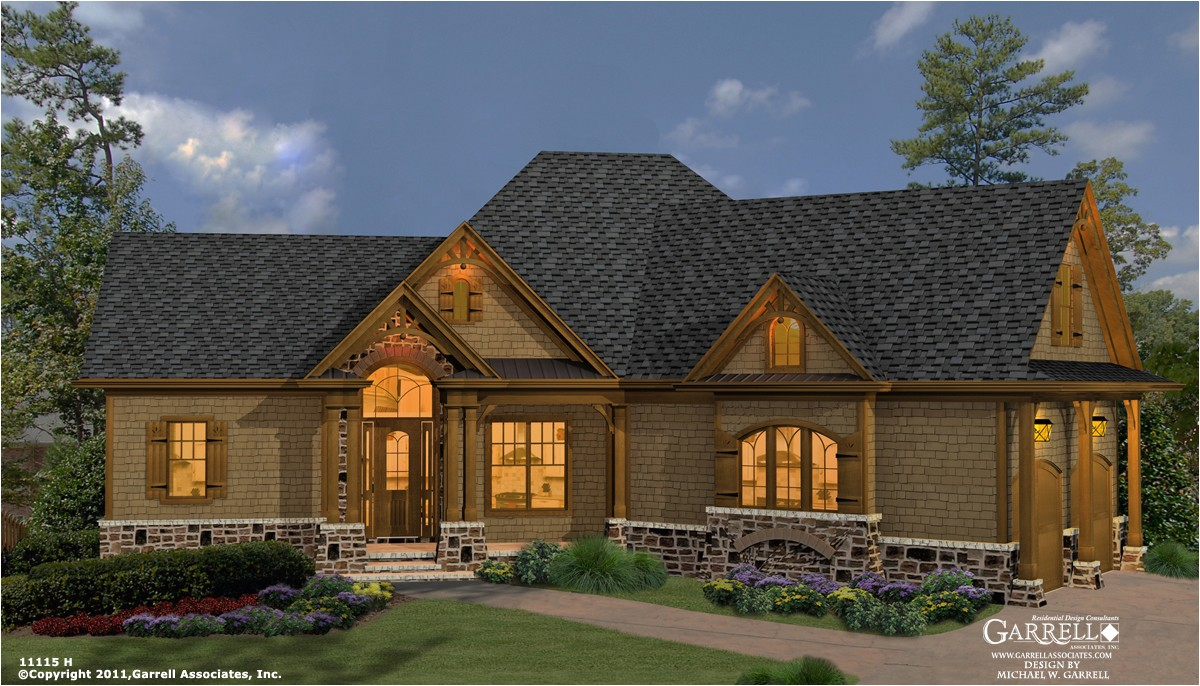 rustic style house plans