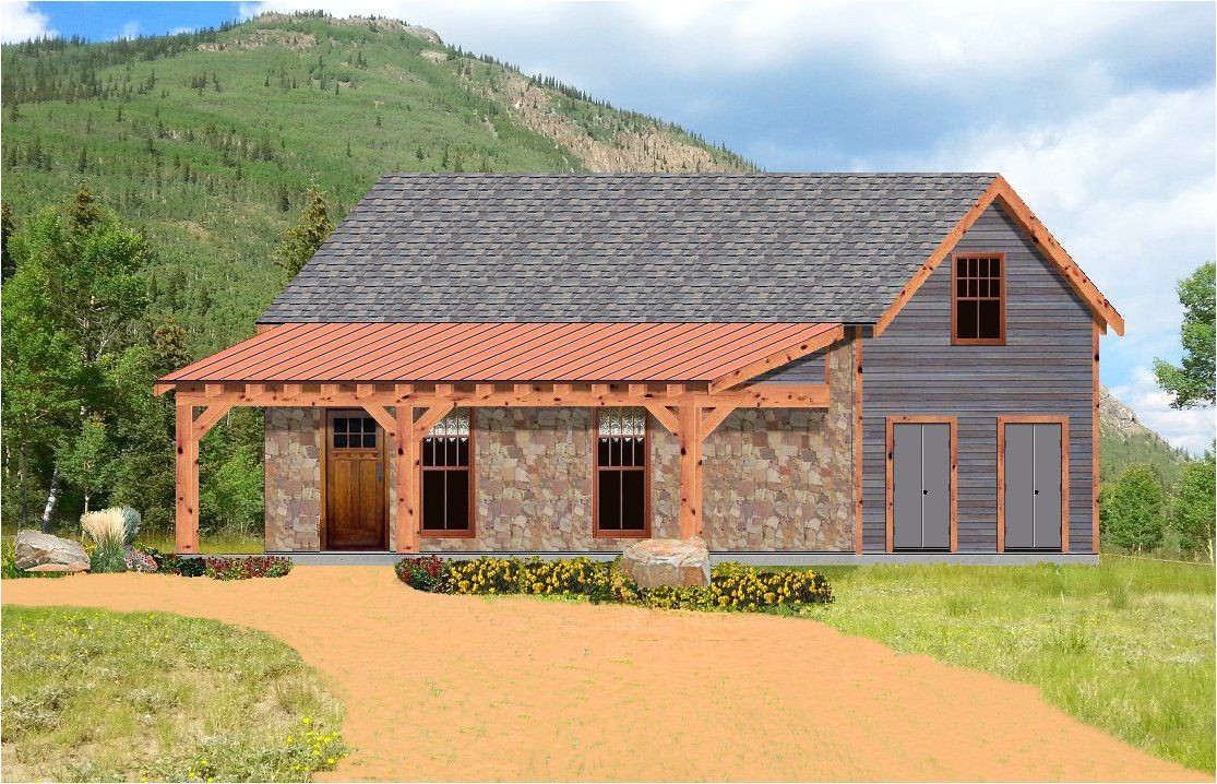 single story rustic house plans