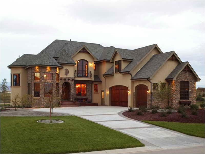 rustic luxury house plans