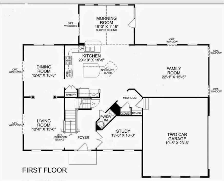 Ryan Homes Plans New Ryan Home Floor Plans New Home Plans Design