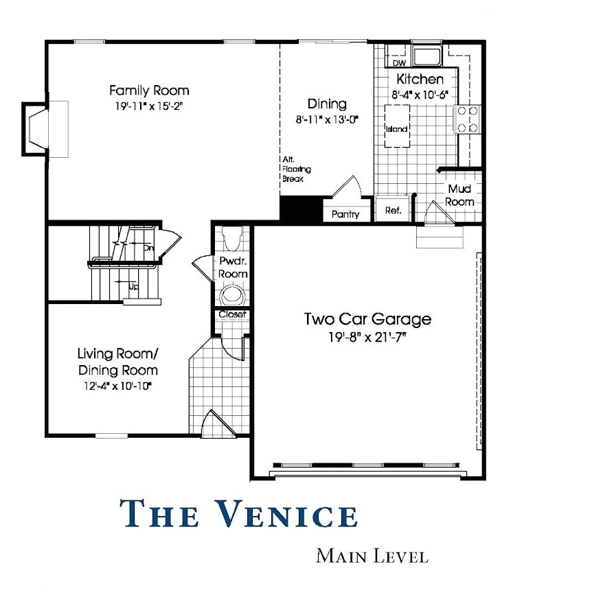 Ryan Homes Venice Floor Plan Our New Venice Home Our Venice Floor Plan