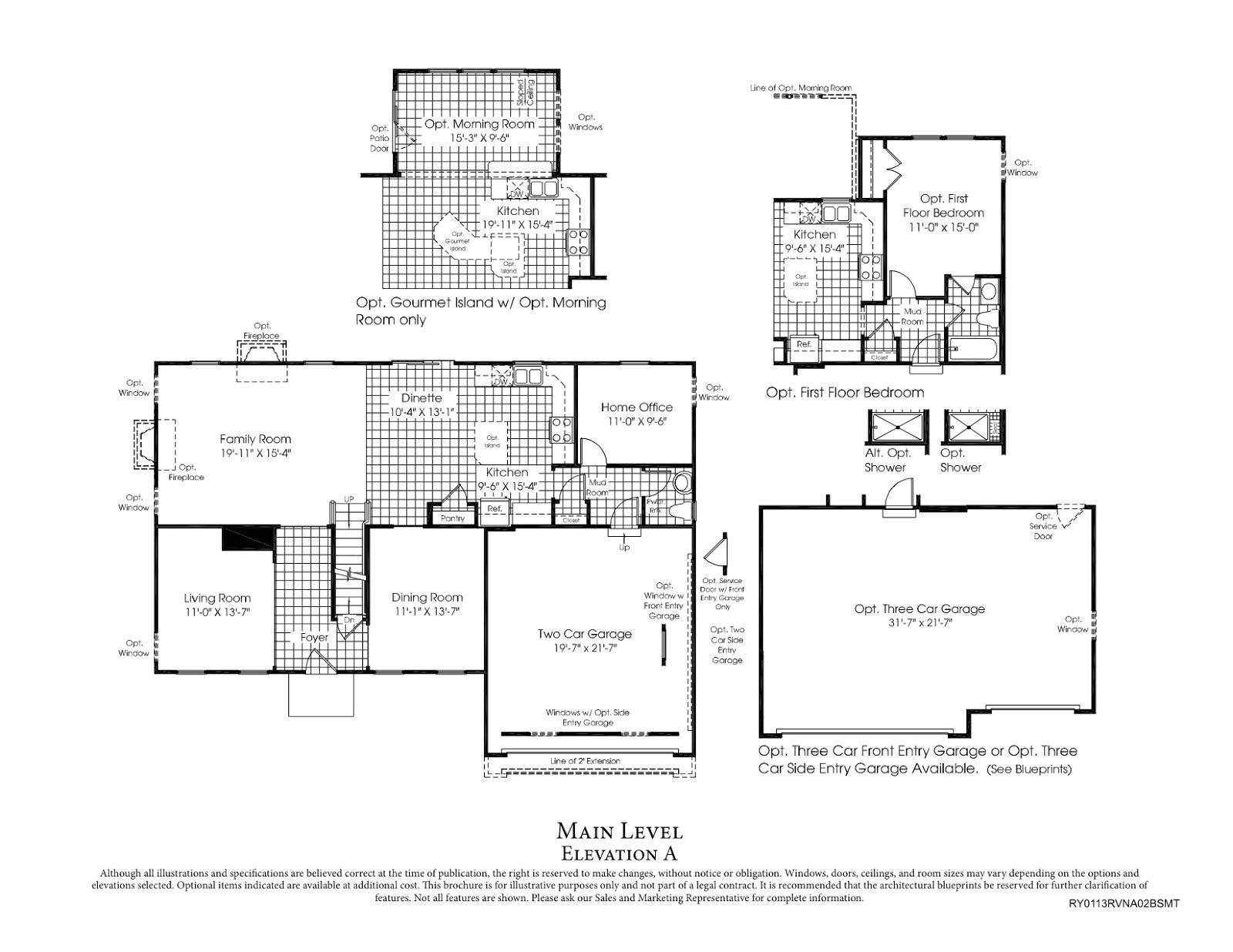 rome floor plan ryan homes
