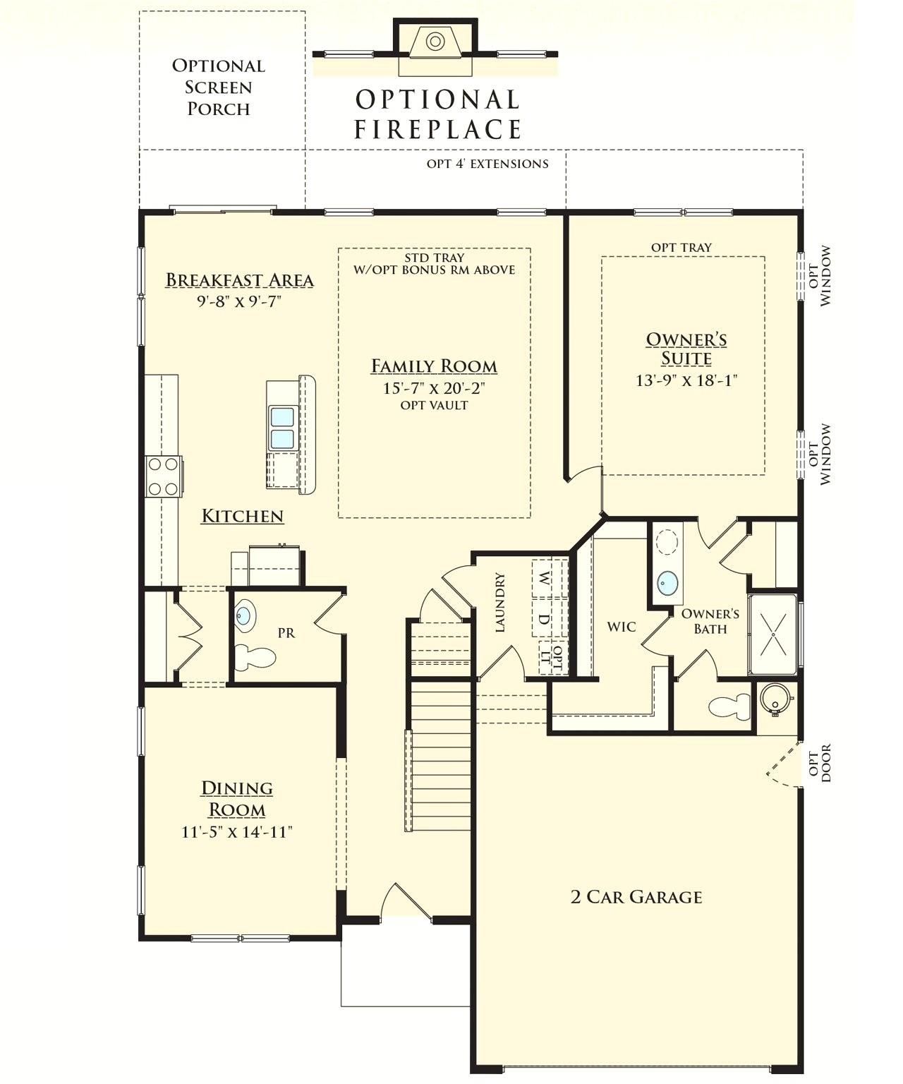 ryan homes floor plans elegant ryan homes wexford floor plan luxury ryan homes floor plans