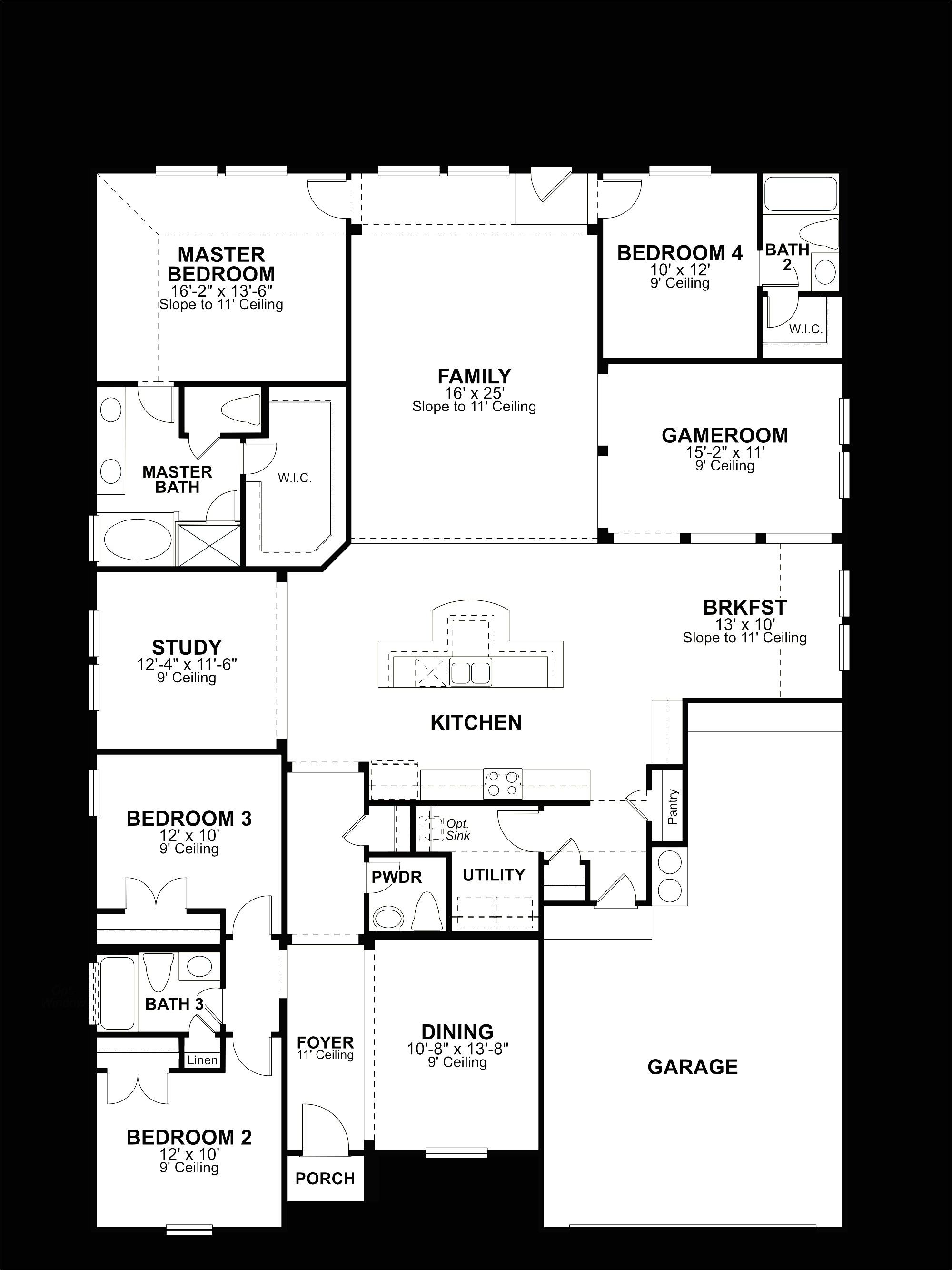 ryland home floor plans