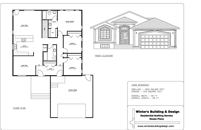 sample of house plan