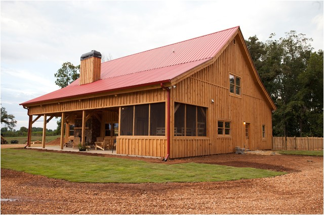 georgia barn home traditional exterior other