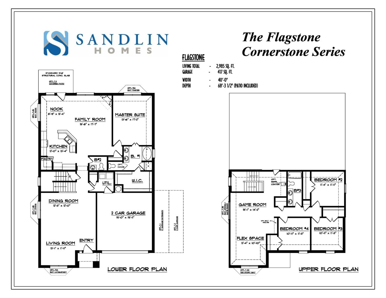 sandlin floorplans flagstone