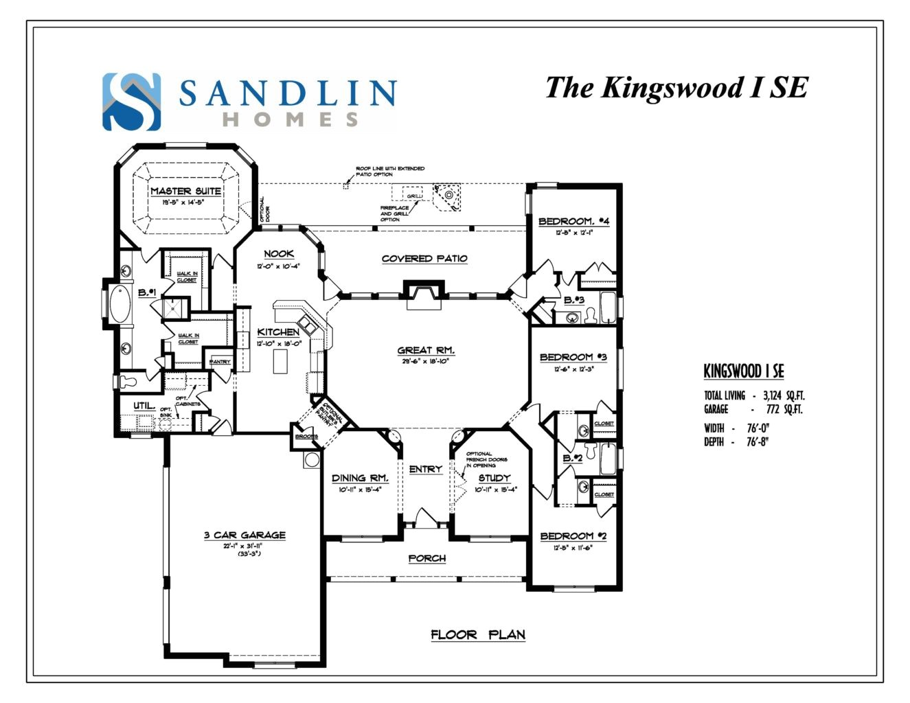 sandlin floorplans kingswood i