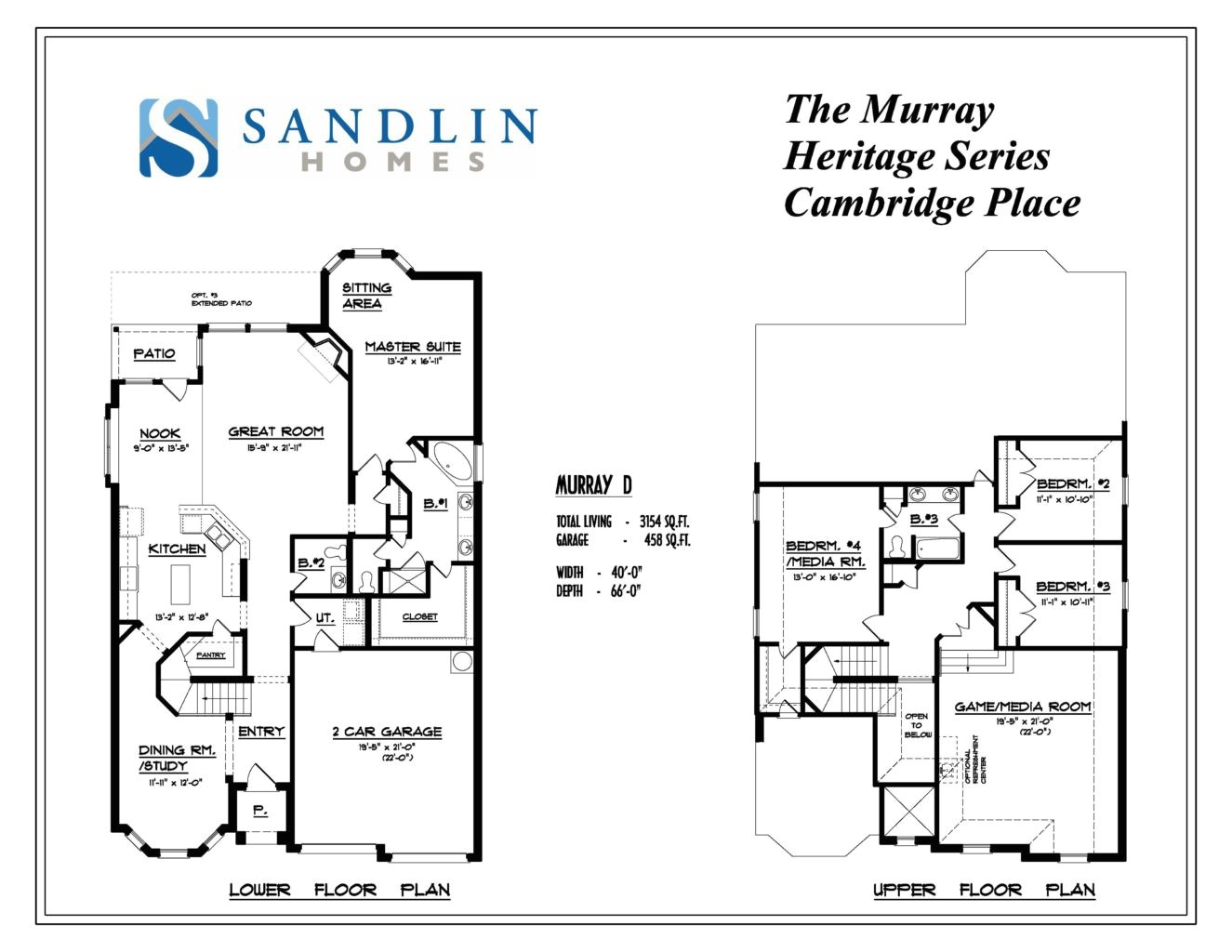 sandlin floorplans murray