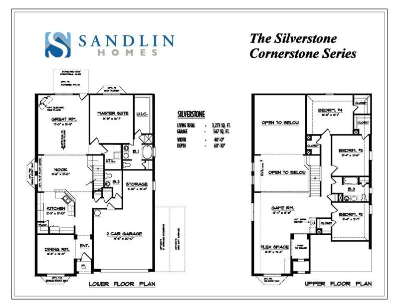 sandlin floorplans silverstone