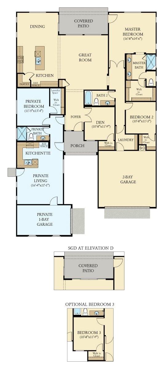 Sanford Homes Colorado Floor Plans oracle Next Gen New Home Plan In Tierra Del Rio