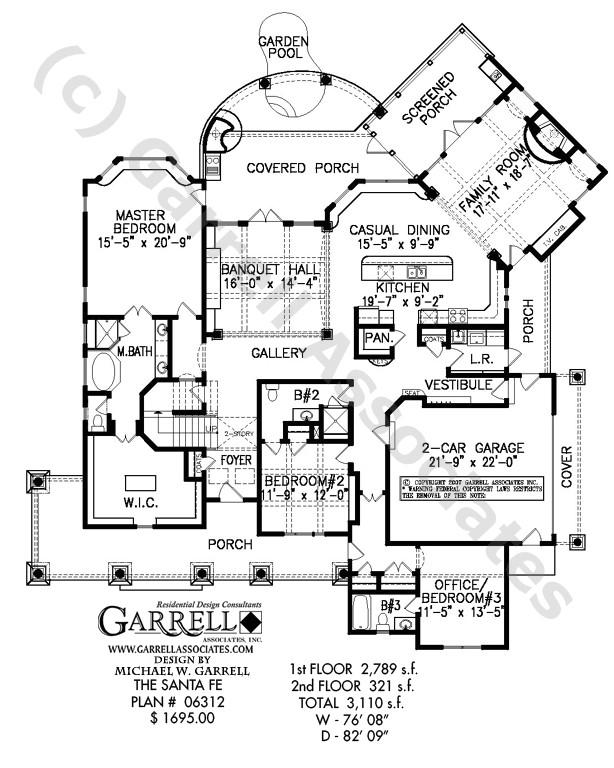 santa fe house plan