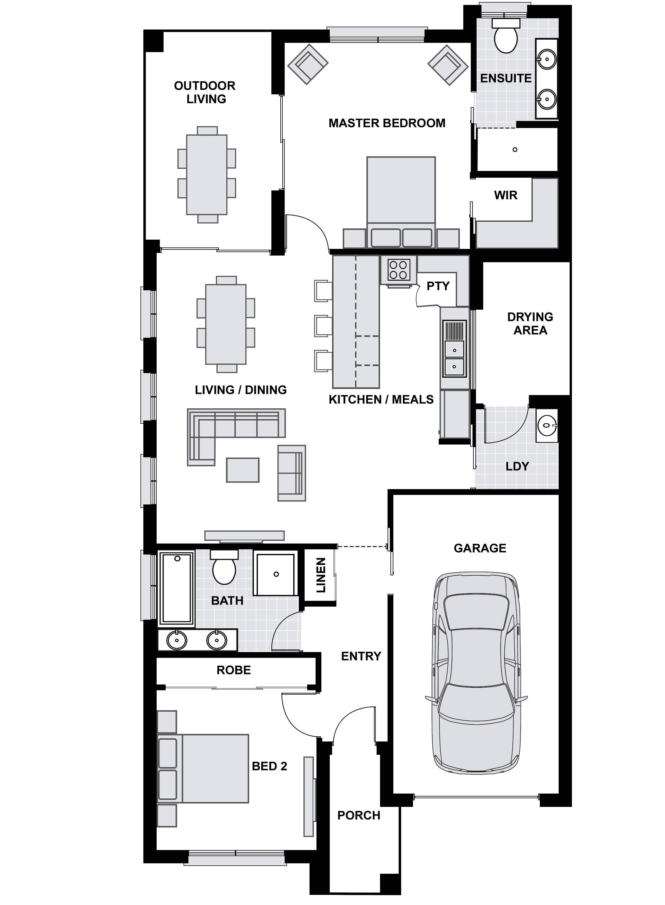 Sarah Homes Floor Plans Sarah Series Cooinda Homes Australia Pty Ltd