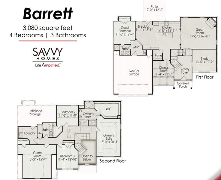 savvy homes floor plans