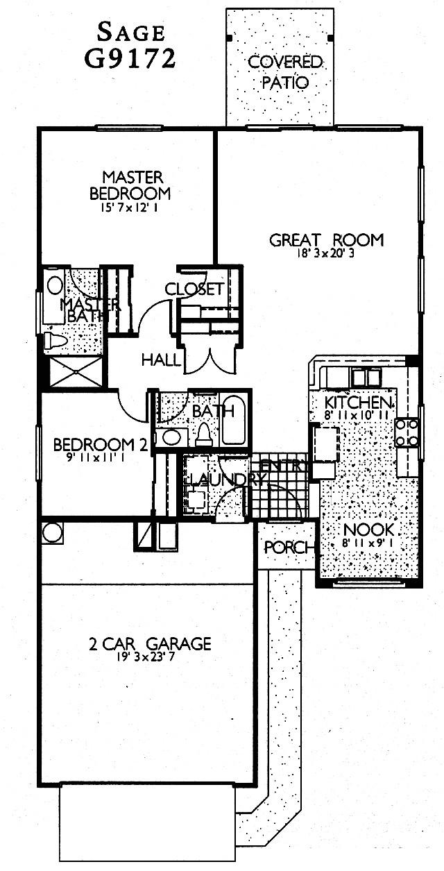 sage floor plan