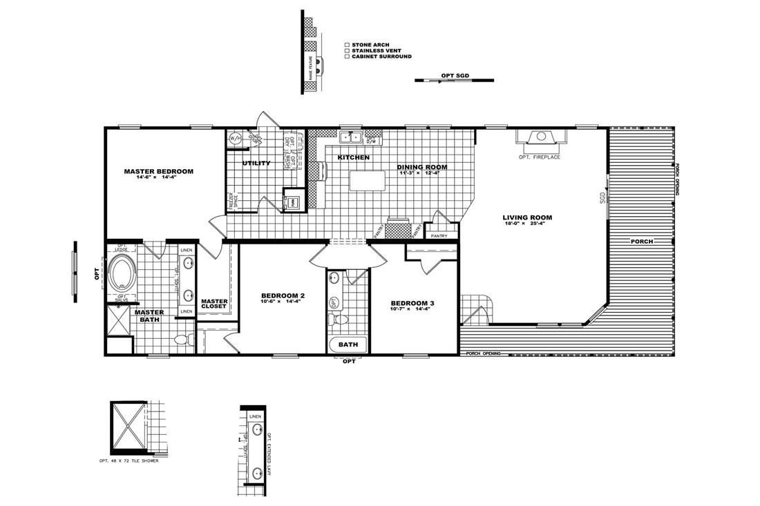 Schult Manufactured Homes Floor Plans Schult Waco Ii