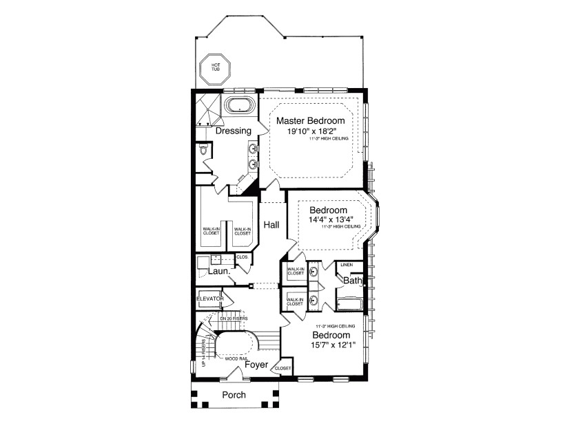 second empire style house plans