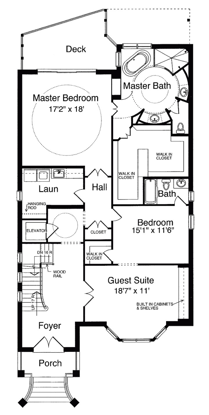 second empire tower house plan c0387 design from allison ramsey