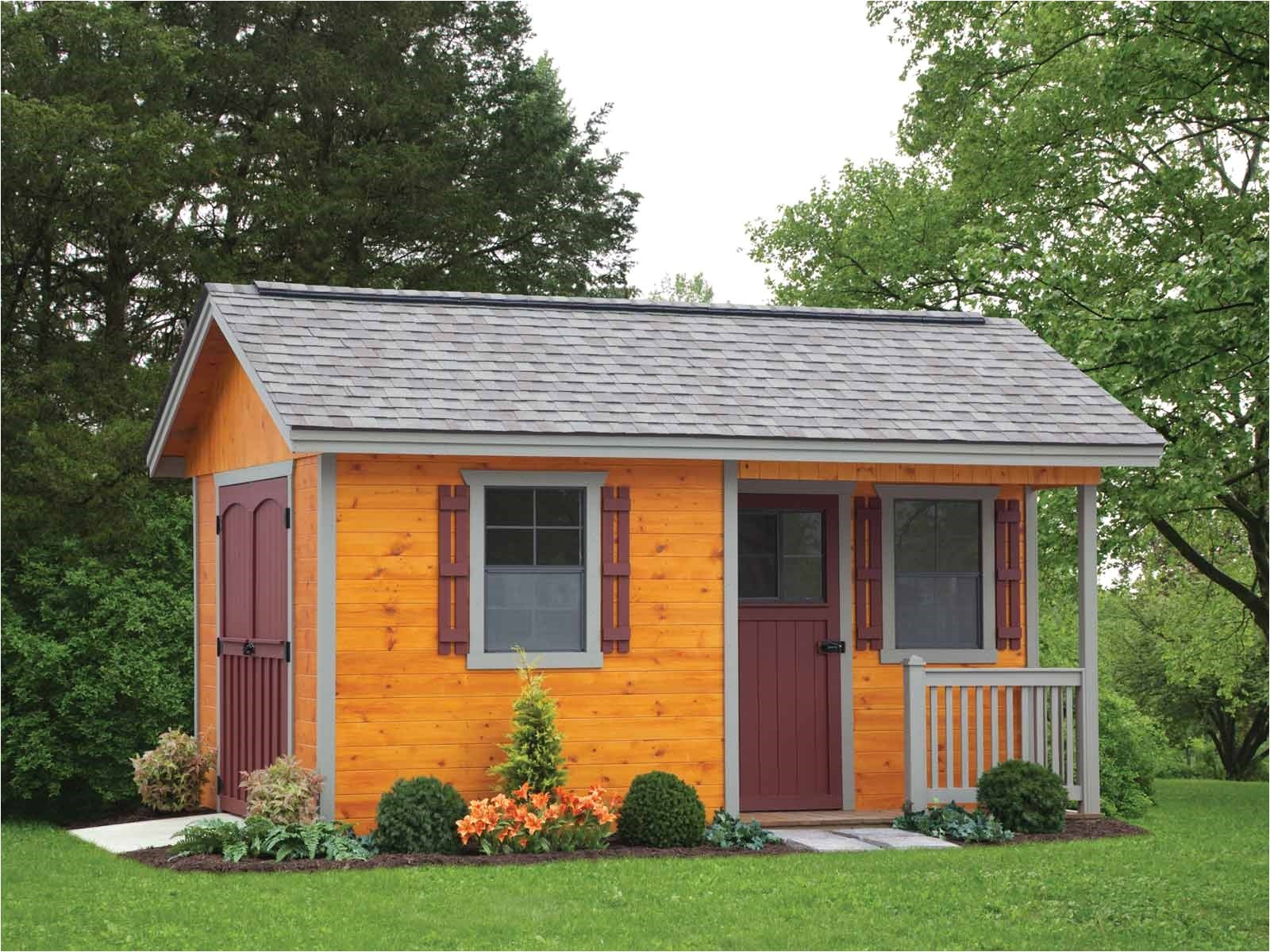 cottage style storage shed plans