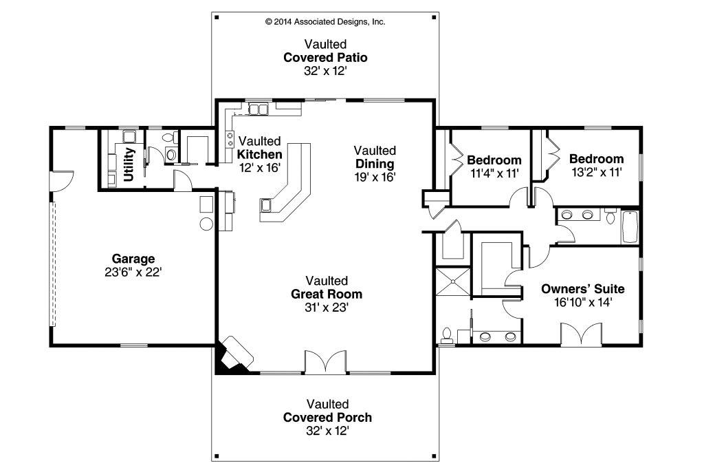 simple ranch house floor plans unique ranch house plans anacortes 30 936 associated designs