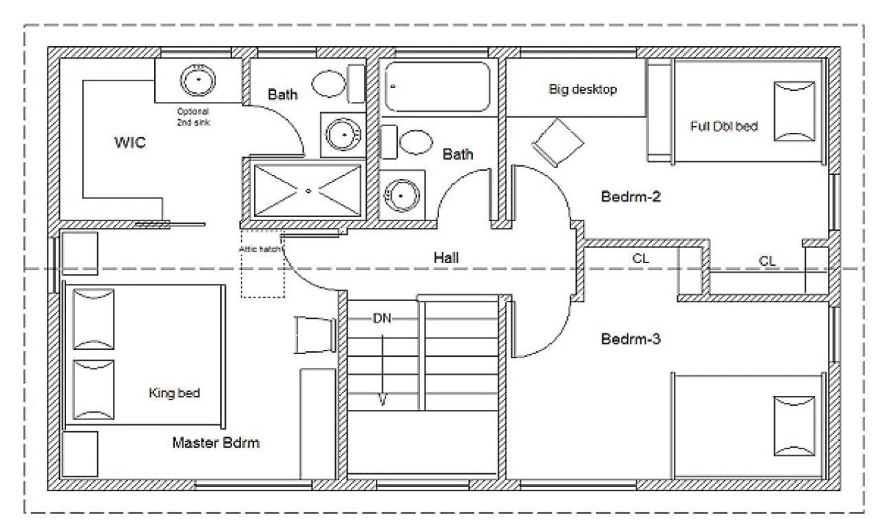 94a0a30f6eb671c5 2 bedroom house simple plan simple house floor plan