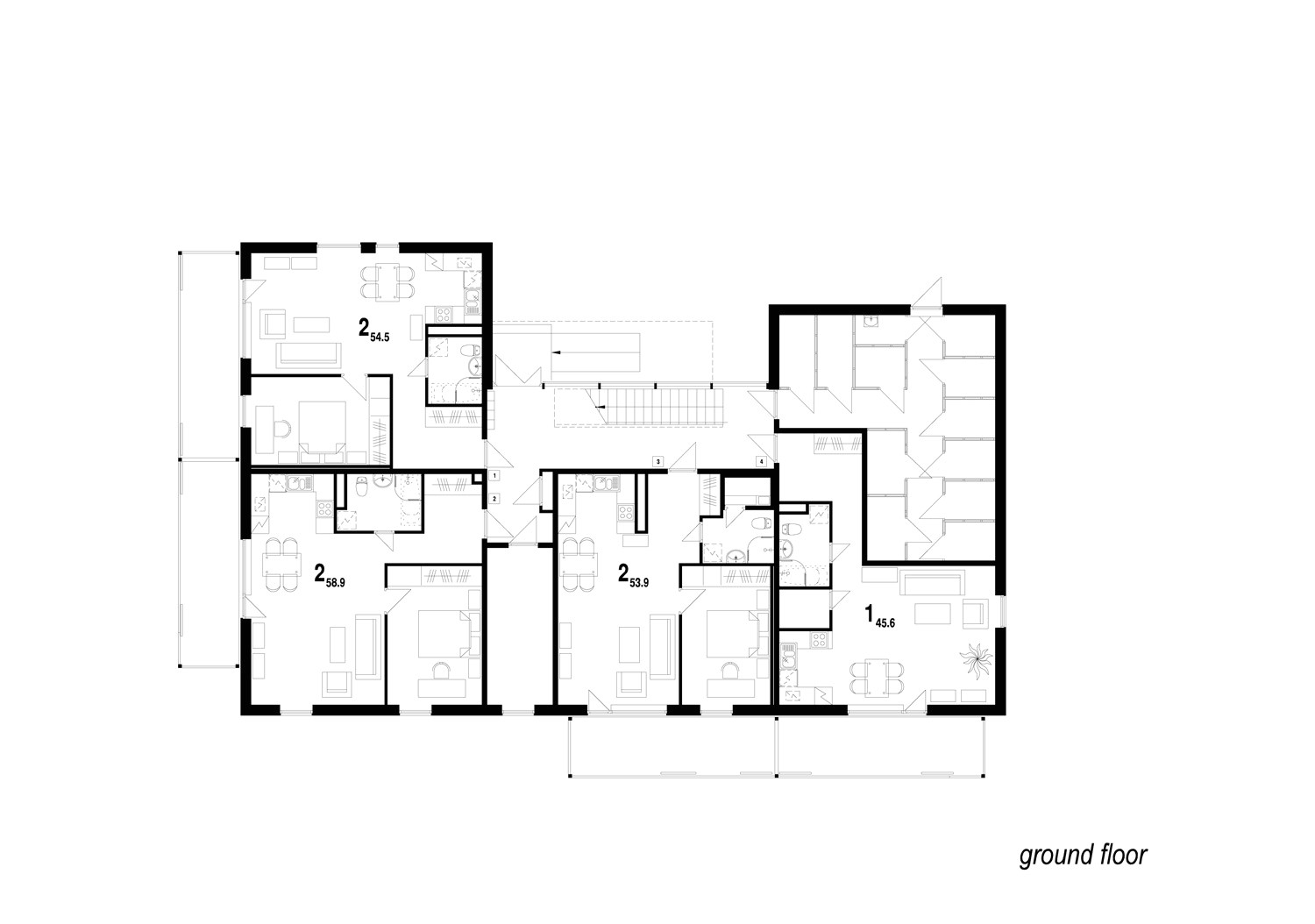 awesome residential house plans 6 simple floor plan residential