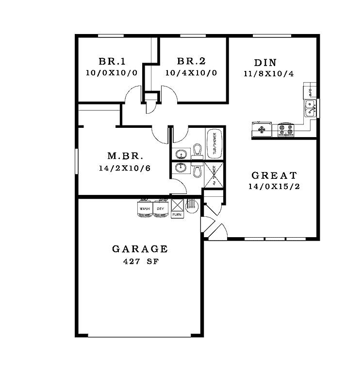 nice simple house plan 9 simple house floor plan