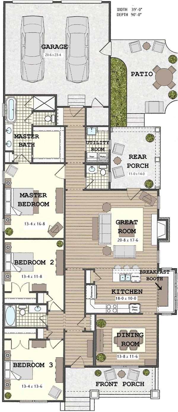 Skinny Home Plans Narrow House Plans Woodworking Projects Plans