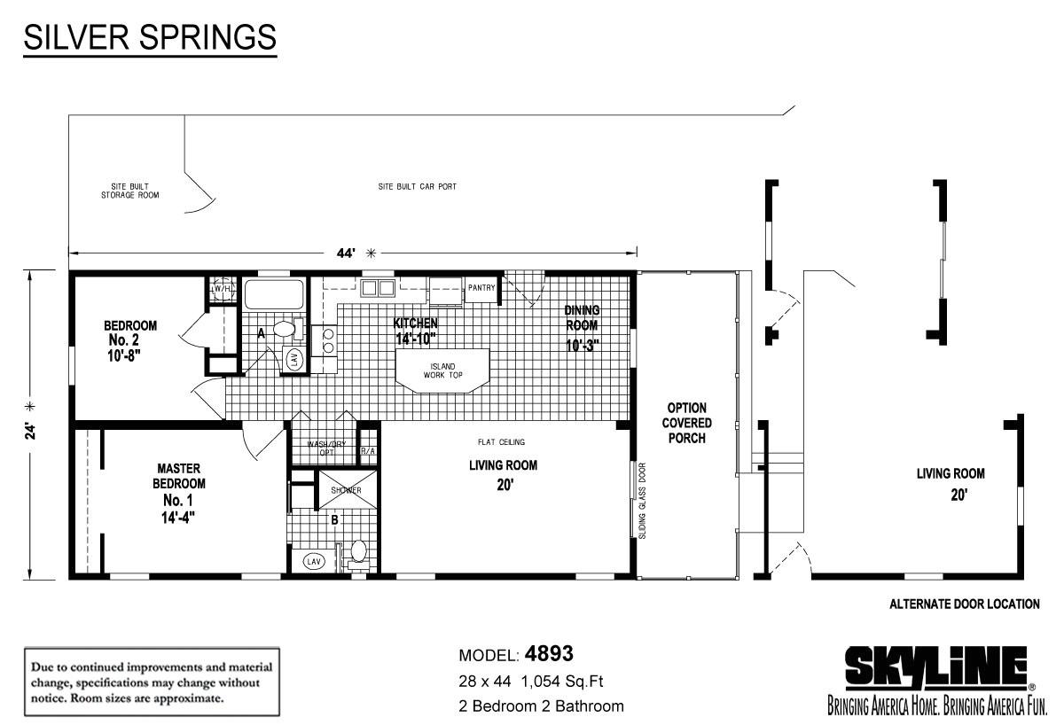 skyline manufactured homes floor plans