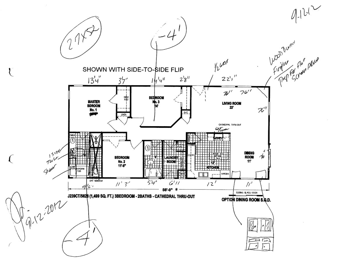 floor plans for skyline mobile homes