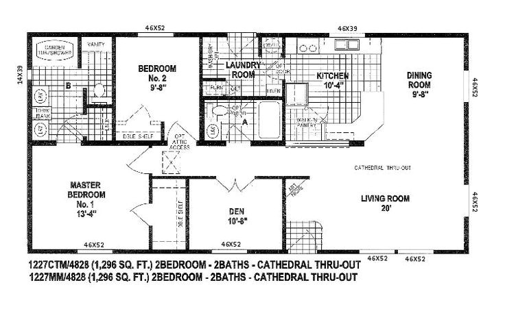 Skyline Mobile Homes Floor Plans Skyline Triple Wide Floor Plans Floor Plans for Double